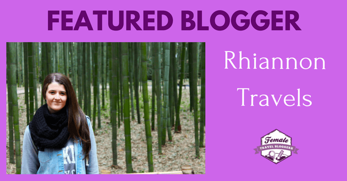 FTB Featured Blogger: Rhiannon Flatman from Rhiannon Travels