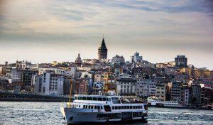 Ferry at Bosporus, Istanbul