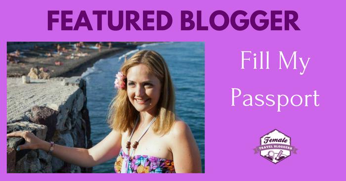 FTB Featured Blogger – Janine Good: Fill My Passport