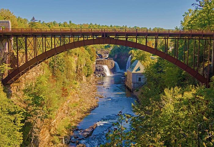 Ausable Chasm the Grand Canyon of the Adirondacks