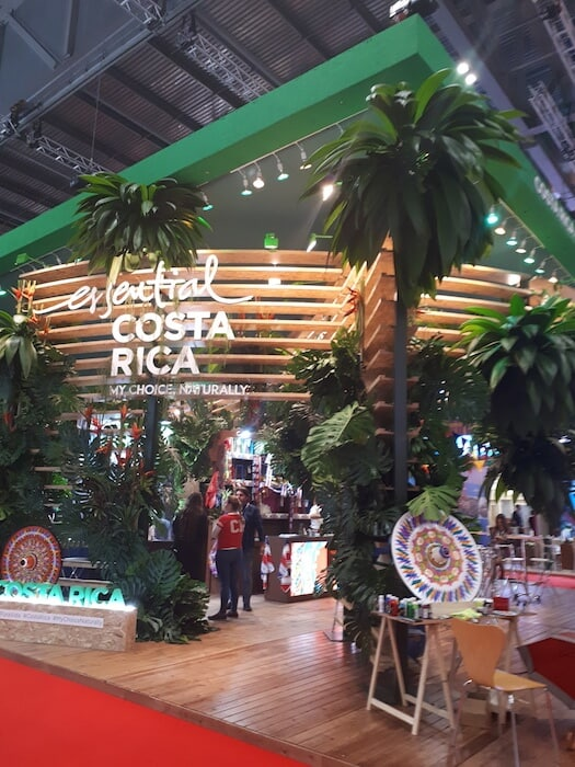 Some of the stands are very impressive! This is the Costa Rica stand at WTM, London