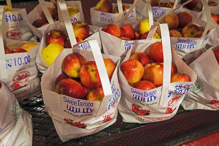 Gunnison Lakeside Orchards sells the best apples