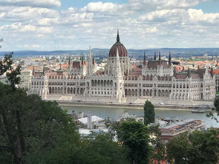 Hungarian Parliament Buildings by Day in Budapest