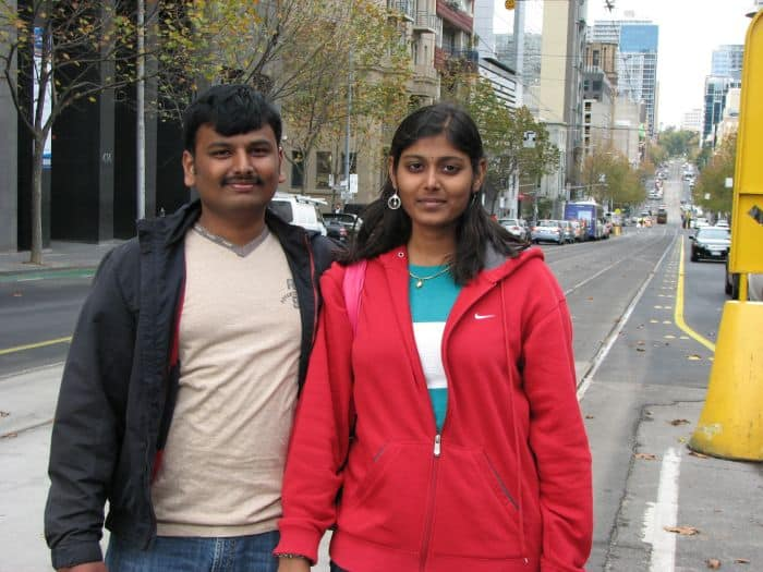 Priyadarshini in Australia