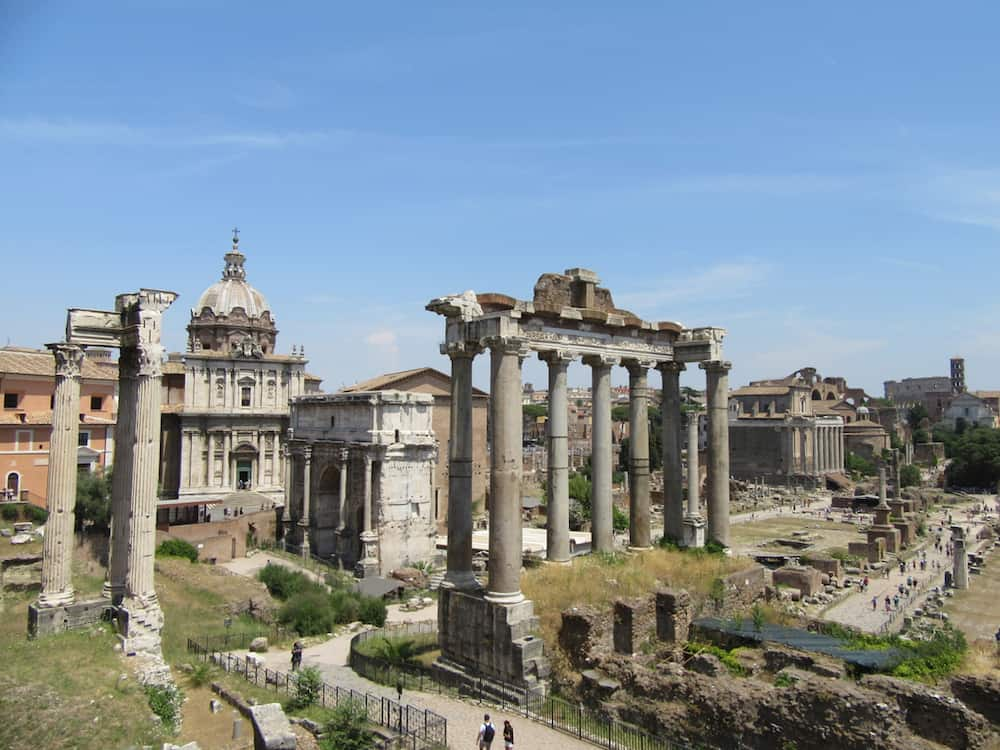 Roman Forum Everywhere Forward Travel Blog