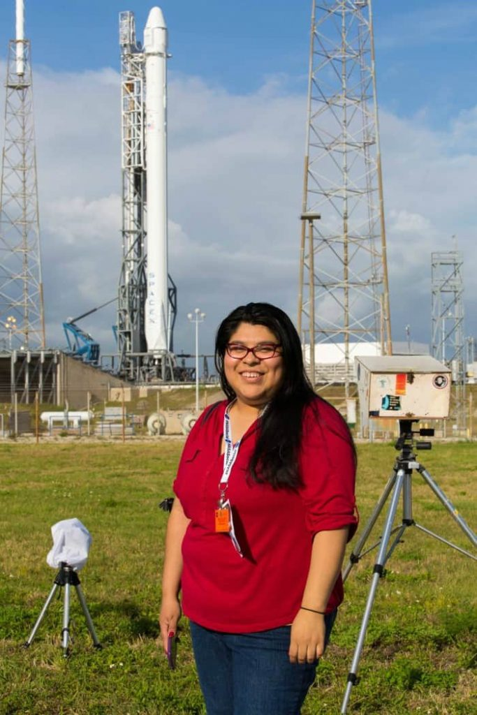 Covering the SpaceX3 launch