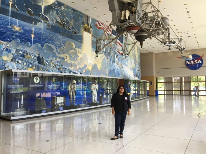 Visiting Johnson Space Center for work