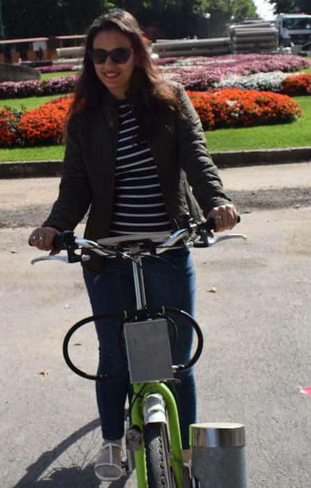 Shivani in Budapest