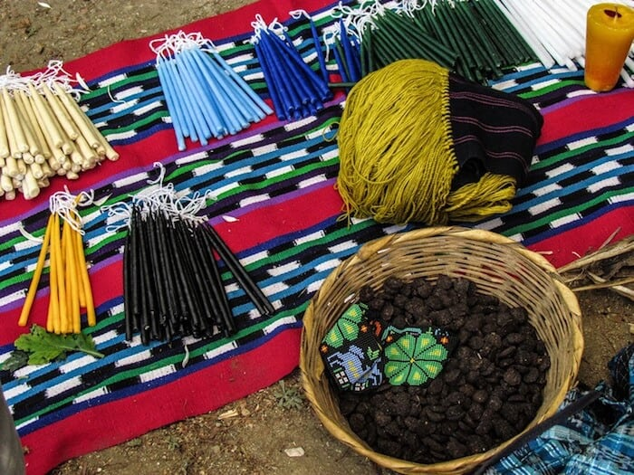 Mayan ceremonies preparations