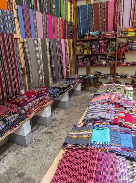 Weaving cooperative shop